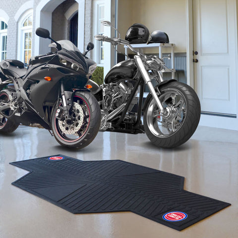 NBA Detroit Pistons Motorcycle Mat - Bed, Bath, And My Team