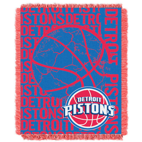 NBA Detroit Pistons Woven Decorative Tapestry - Bed, Bath, And My Team