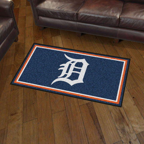 Detroit Tigers 3 x 5 area rug