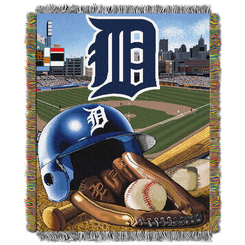 Detroit Tigers Home Field Advantage Tapestry