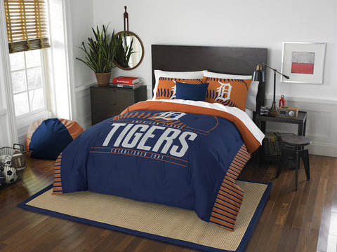 Detroit Tigers queen/full comforter and 2 shams
