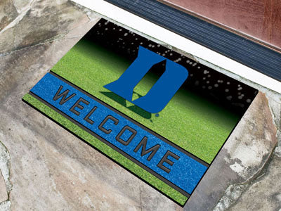 NCAA Duke Blue Devils Recycled Rubber CRUMB Doormat - Bed, Bath, And My Team