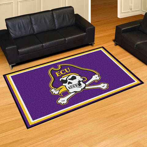 NCAA East Carolina Pirates 5 X 8 Ft. Area Rug - Bed, Bath, And My Team