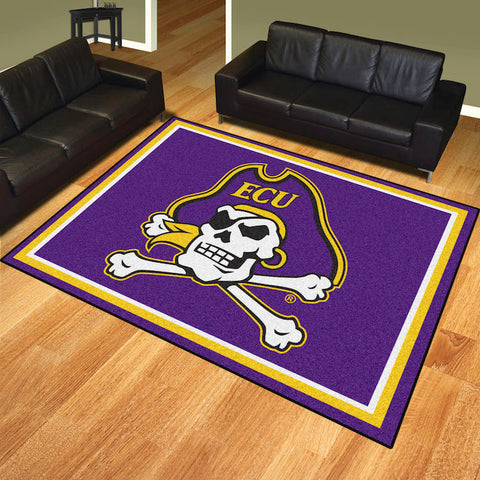NCAA East Carolina Pirates 8 X 10 Ft. Area Rug - Bed, Bath, And My Team