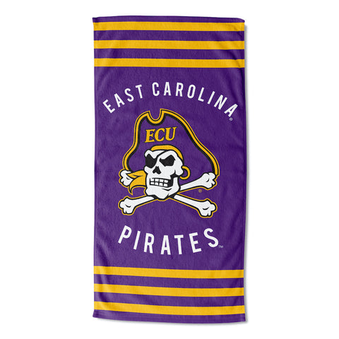 NCAA East Carolina Pirates Beach Towel - Bed, Bath, And My Team