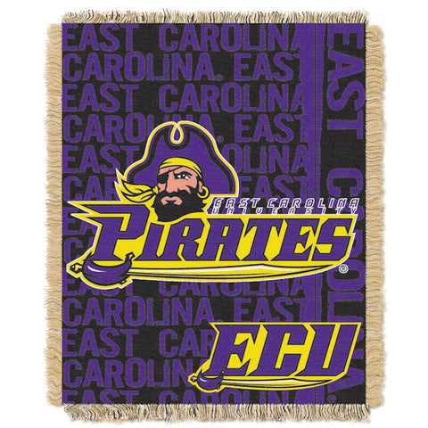 NCAA East Carolina Pirates Woven Decorative Tapestry - Bed, Bath, And My Team