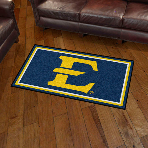 NCAA East Tennessee State Buccaneers 3 X 5 Ft. Plush Area Rug - Bed, Bath, And My Team