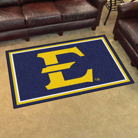 NCAA East Tennessee State Buccaneers 4 X 6 Ft. Area Rug - Bed, Bath, And My Team
