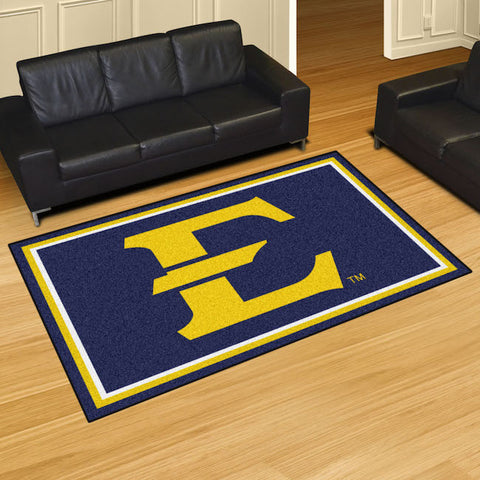 NCAA East Tennessee State Buccaneers 5 X 8 Ft. Area Rug - Bed, Bath, And My Team