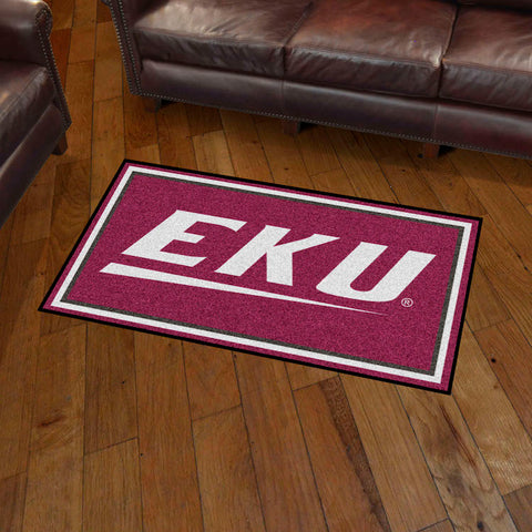 NCAA Eastern Kentucky Colonels 3 X 5 Ft. Plush Area Rug - Bed, Bath, And My Team