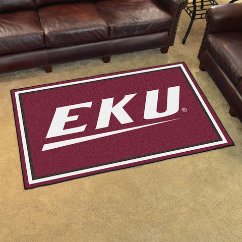 NCAA Eastern Kentucky Colonels 4 X 6 Ft. Area Rug - Bed, Bath, And My Team