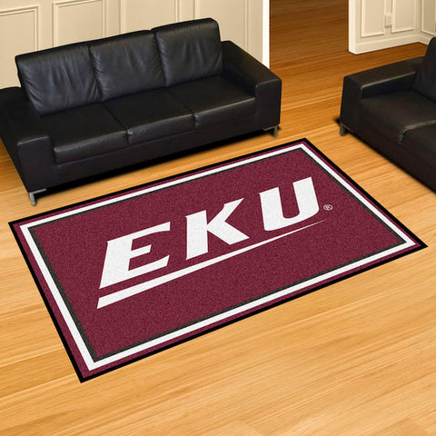 NCAA Eastern Kentucky Colonels 5 X 8 Ft. Area Rug - Bed, Bath, And My Team