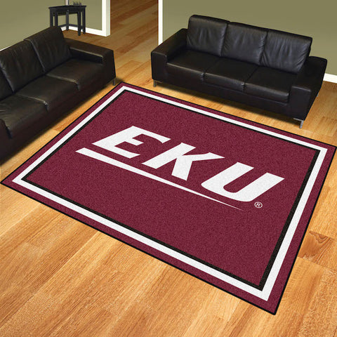 NCAA Eastern Kentucky Colonels 8 X 10 Ft. Area Rug - Bed, Bath, And My Team