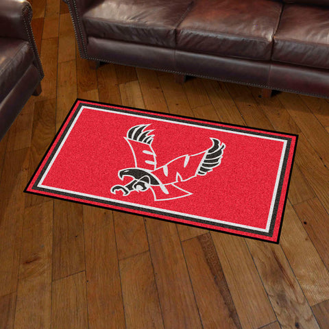 NCAA Eastern Washington Eagles 3 X 5 Ft. Plush Area Rug - Bed, Bath, And My Team