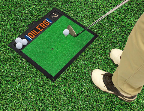 Edmonton Oilers Golf Ball Hitting Mat