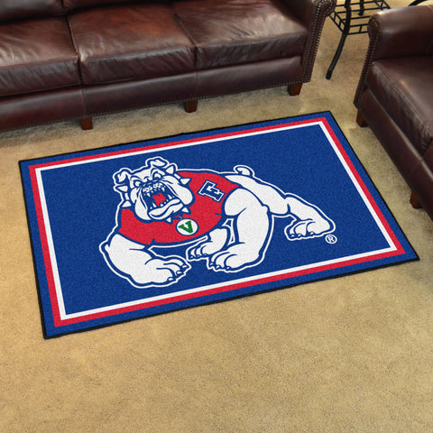 NCAA Fresno State Bulldogs 4 X 6 Ft. Area Rug - Bed, Bath, And My Team