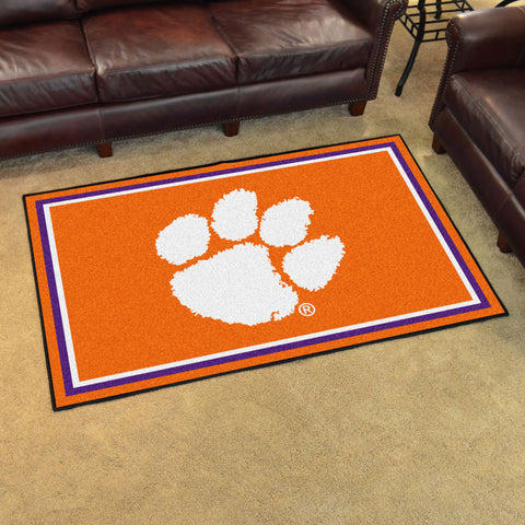 NCAA Clemson Tigers 4 X 6 Ft. Area Rug - Bed, Bath, And My Team