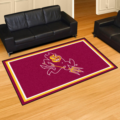 NCAA Arizona State Sun Devils SPARKY 5 X 8 Ft. Area Rug - Bed, Bath, And My Team