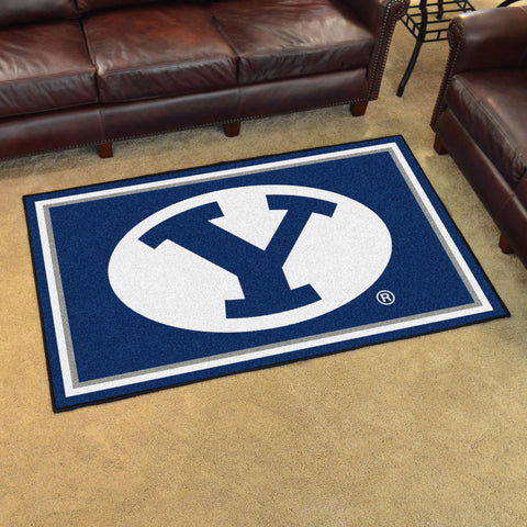 NCAA BYU Cougars 4 X 6 Ft. Area Rug - Bed, Bath, And My Team