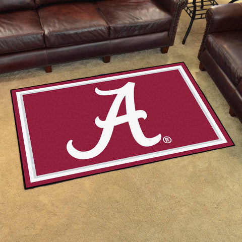 NCAA Alabama Crimson Tide 4 X 6 Ft. Area Rug - Bed, Bath, And My Team