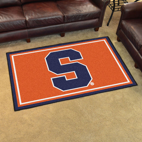 Syracuse Orange 4 x 6 area rug