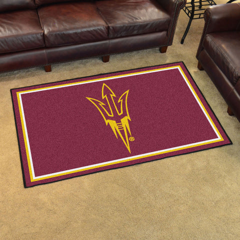 NCAA Arizona State Sun Devils 4 X 6 Ft. Area Rug - Bed, Bath, And My Team