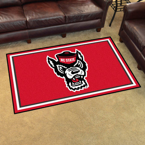 NCAA NC State Wolfpack 4 X 6 Ft. Area Rug - Bed, Bath, And My Team