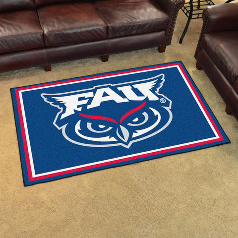 NCAA Florida Atlantic Owls 4 X 6 Ft. Area Rug - Bed, Bath, And My Team