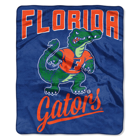 NCAA Florida Gators 50 x 60 Alumni Raschel Throw Blanket - Bed, Bath, And My Team