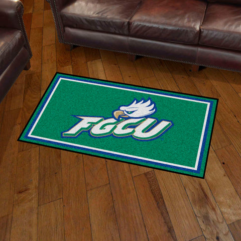 NCAA Florida Gulf Coast Eagles 3 X 5 Ft. Plush Area Rug - Bed, Bath, And My Team