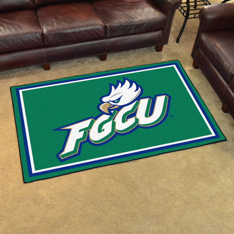 NCAA Florida Gulf Coast Eagles 4 X 6 Ft. Area Rug - Bed, Bath, And My Team