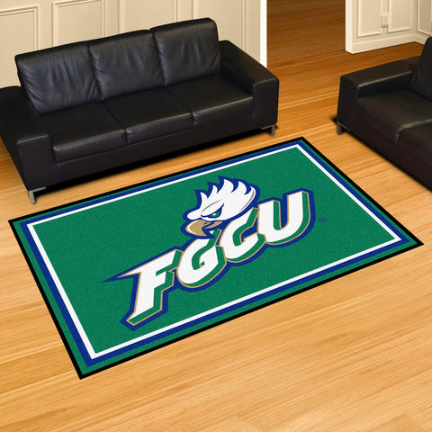 NCAA Florida Gulf Coast Eagles 5 X 8 Ft. Area Rug - Bed, Bath, And My Team