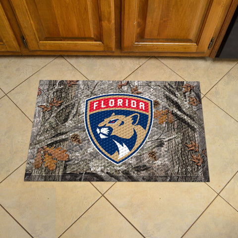 Florida Panthers Camo Scraper Doormat