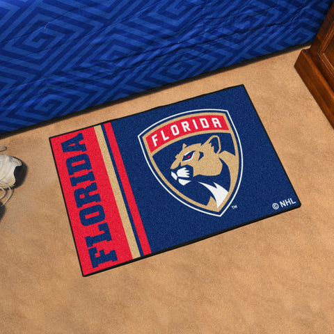 Florida Panthers Uniform Inspired Starter Mat
