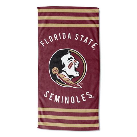 NCAA Florida State Seminoles Beach Towel - Bed, Bath, And My Team