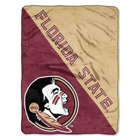 NCAA Florida State Seminoles Micro Raschel Throw - Bed, Bath, And My Team