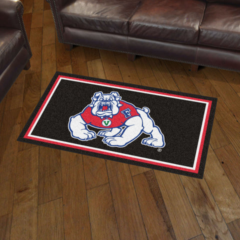 NCAA Fresno State Bulldogs 3 X 5 Ft. Plush Area Rug - Bed, Bath, And My Team