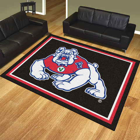 NCAA Fresno State Bulldogs 8 X 10 Ft. Area Rug - Bed, Bath, And My Team