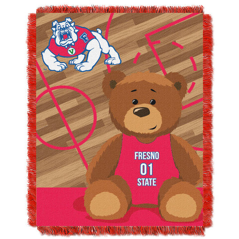 NCAA Fresno State Bulldogs Baby Blanket - Bed, Bath, And My Team