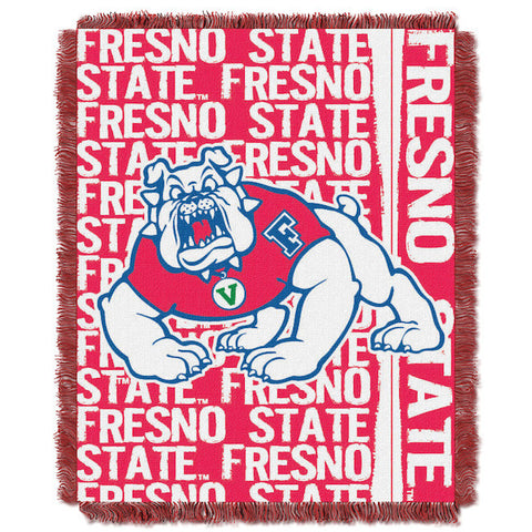NCAA Fresno State Bulldogs Woven Decorative Tapestry - Bed, Bath, And My Team