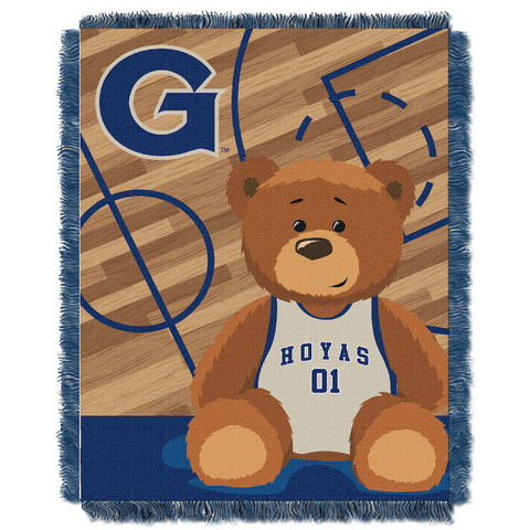 NCAA Georgetown Hoyas Baby Blanket - Bed, Bath, And My Team