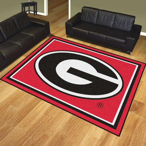 NCAA Georgia Bulldogs 8 X 10 Ft. Area Rug - Bed, Bath, And My Team