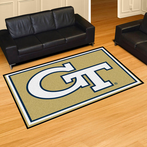 NCAA Georgia Tech Yellow Jackets 5 X 8 Ft. Area Rug - Bed, Bath, And My Team