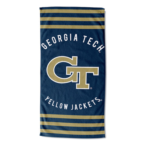 NCAA Georgia Tech Yellow Jackets Beach Towel - Bed, Bath, And My Team