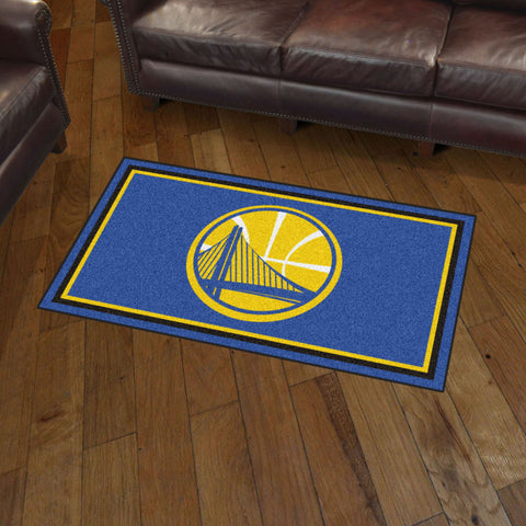 NBA Golden State Warriors 3 X 5 Ft. Plush Area Rug - Bed, Bath, And My Team
