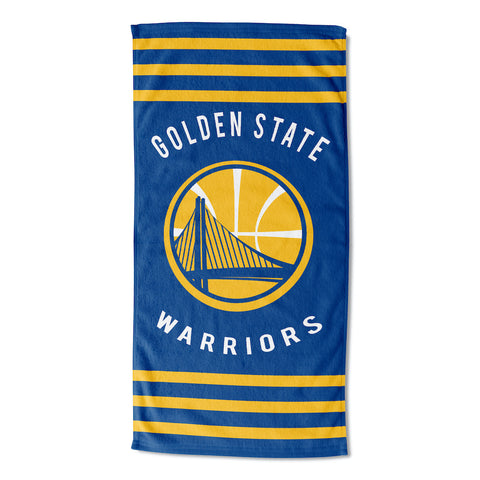 NBA Golden State Warriors Beach Towel - Bed, Bath, And My Team