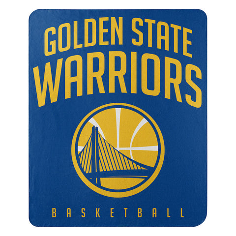 NBA Golden State Warriors Fleece Throw ~ 50 x 60 - Bed, Bath, And My Team