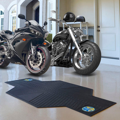 NBA Golden State Warriors Motorcycle Mat - Bed, Bath, And My Team