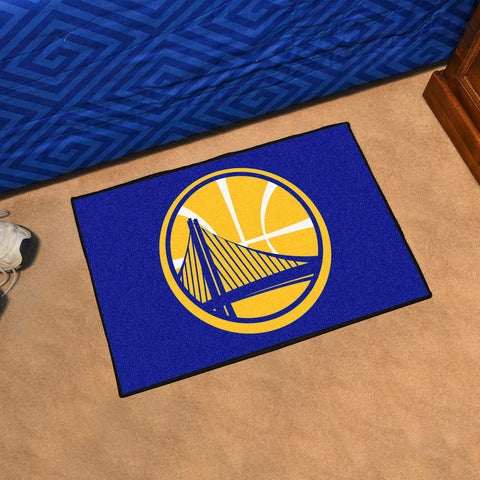 NBA Golden State Warriors STARTER Rug - Bed, Bath, And My Team