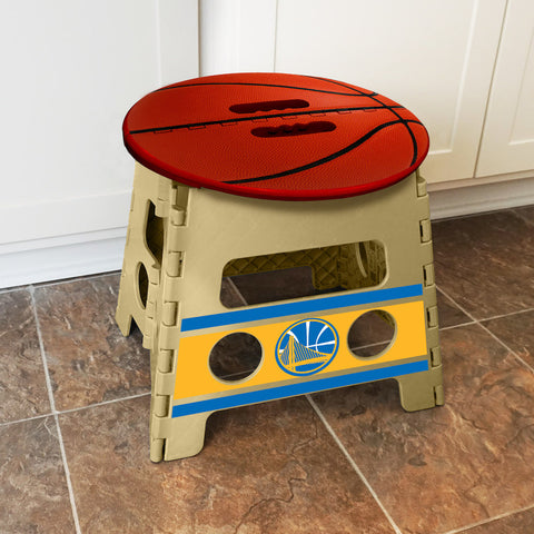 NBA Golden State Warriors Folding Step Stool - Bed, Bath, And My Team